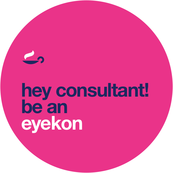 hey consultant! be an eyekon