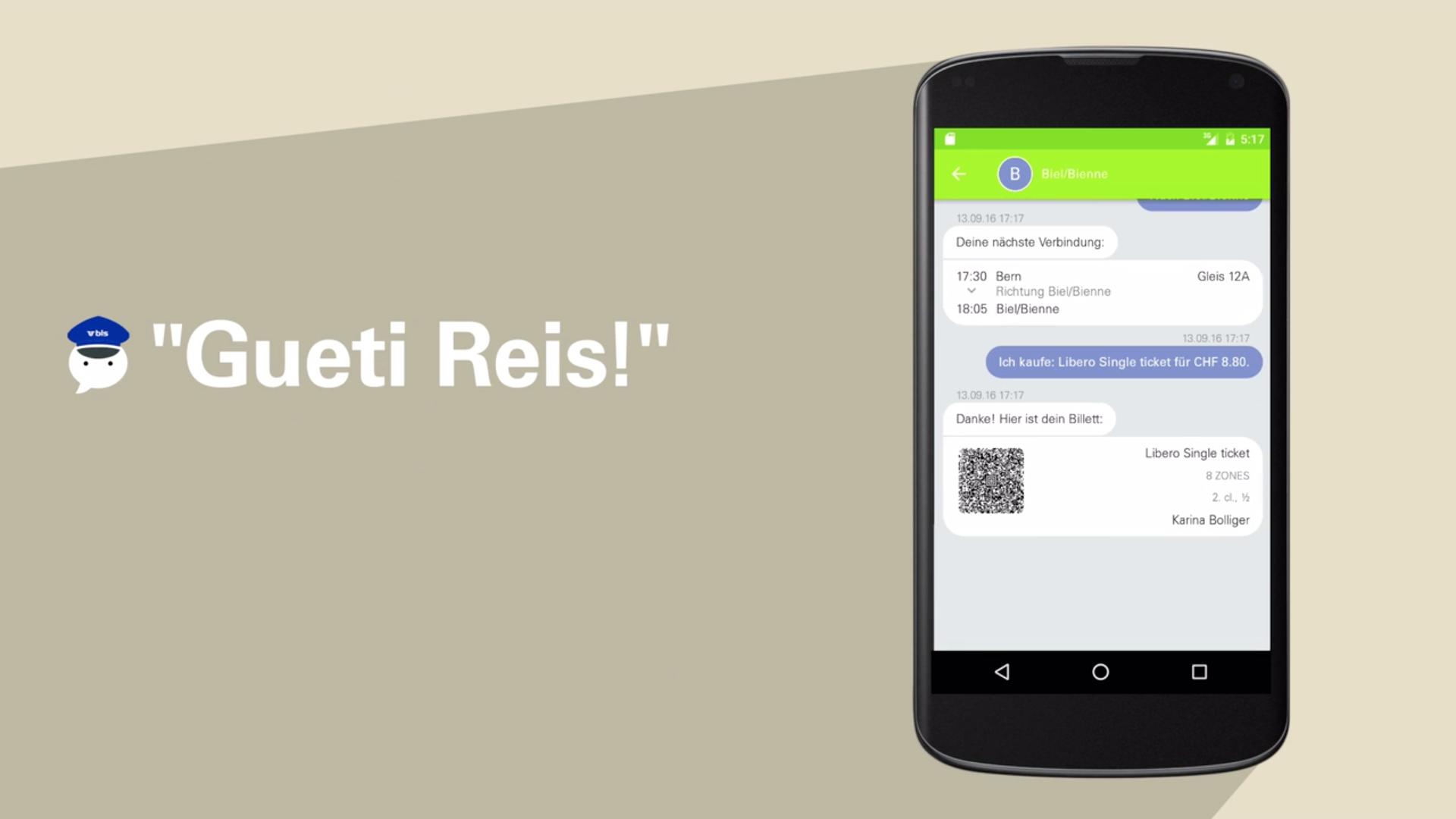 Chat-App für BLS