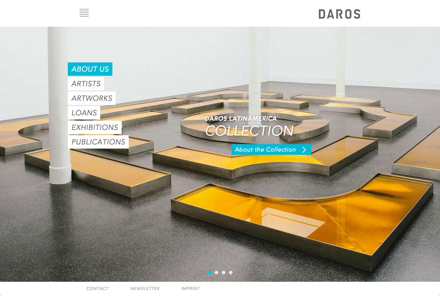 Startseite Werksammlung Daros slide 0