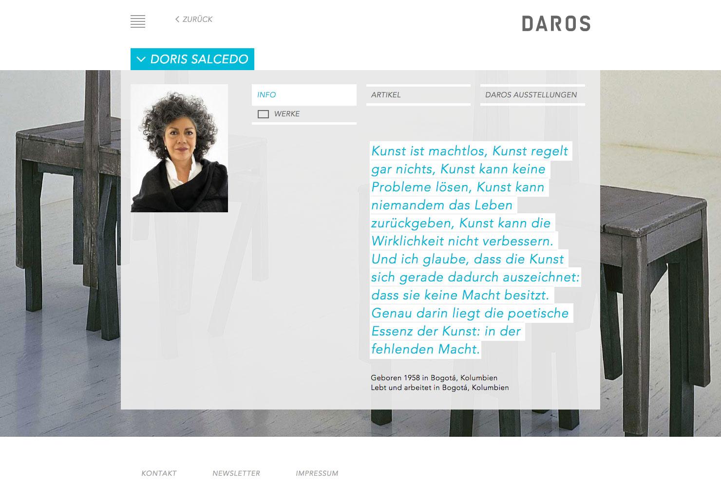 Künstler Portrait slide 3