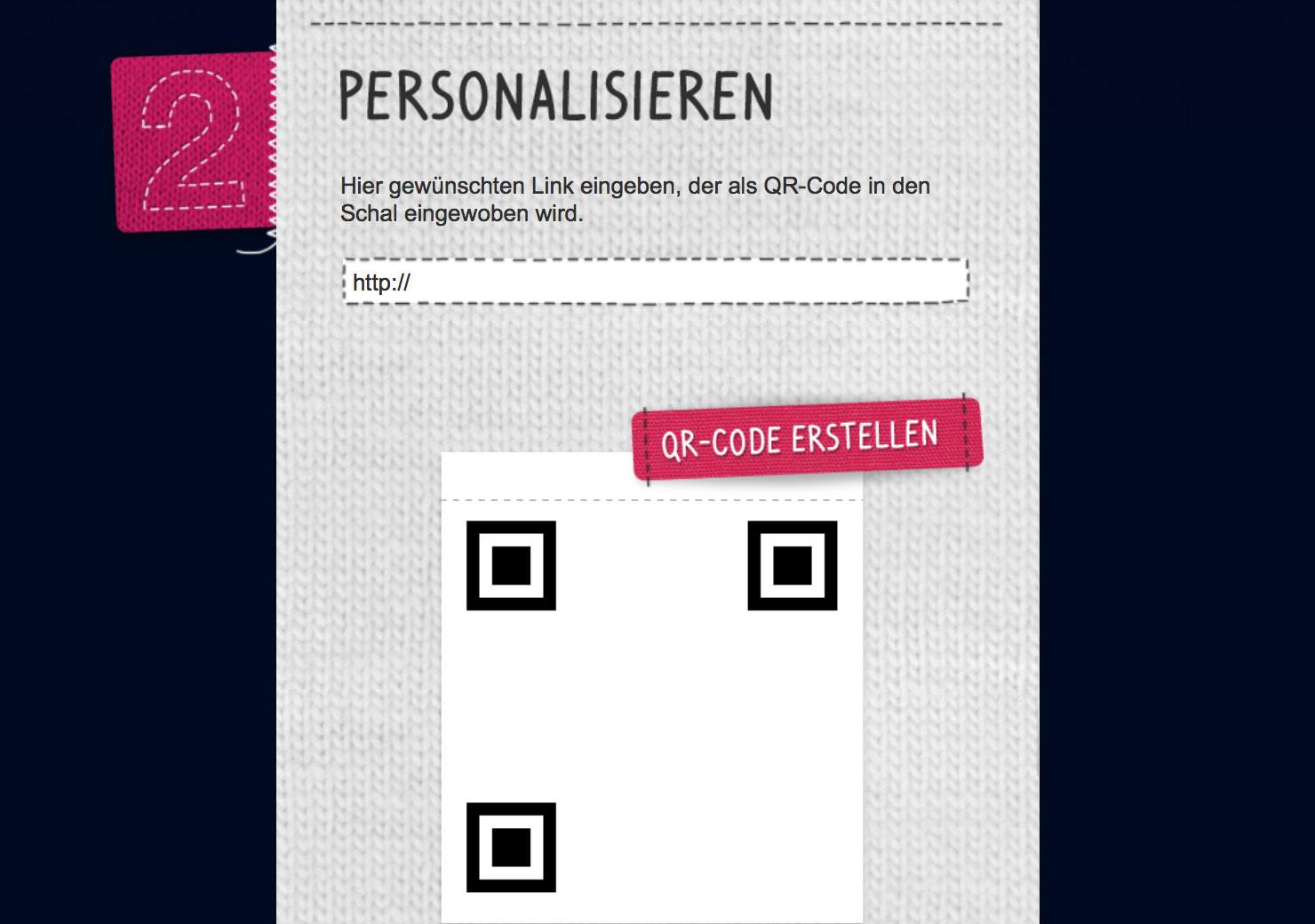 QR Code erstellen für das Weihnachtsgeschenk slide 2