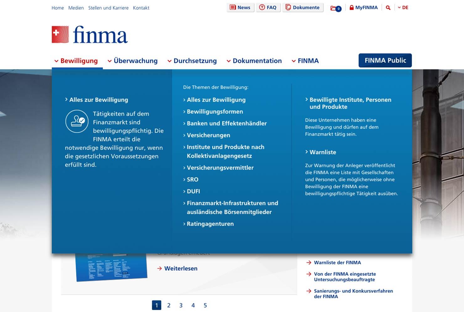 Navigation Website slide 1
