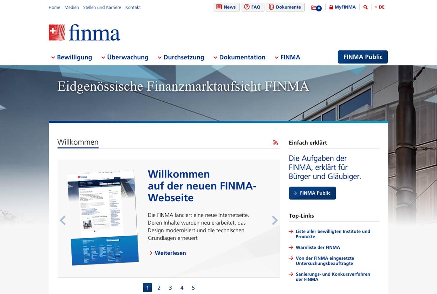 Startseite Onlineauftritt slide 0