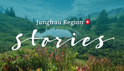 Story-Plattform für die Jungfrau Region