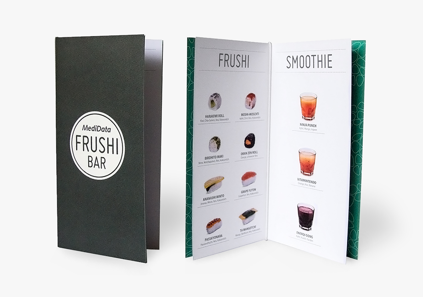 Sushi Menü für eine Messe-Auftritt slide 6