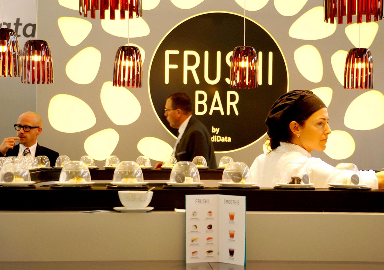 Sushi Bar Konzept für eine Messe-Auftritt slide 4