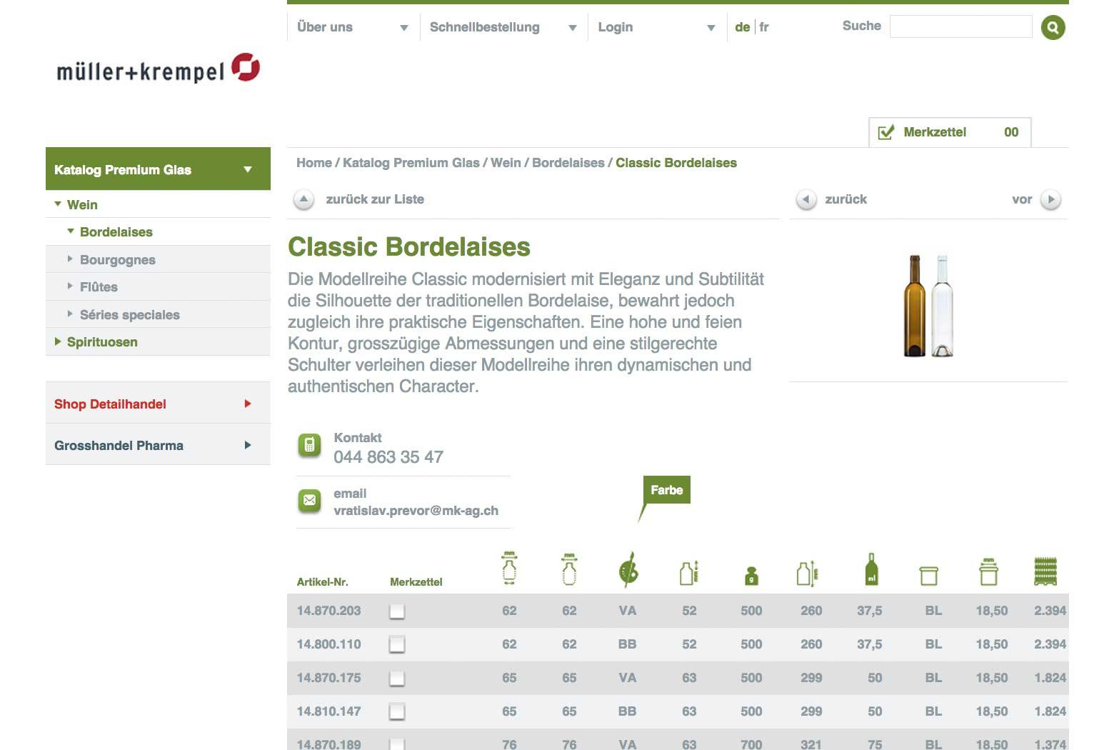 E-Business Webseite für Müller + Krempel slide 3