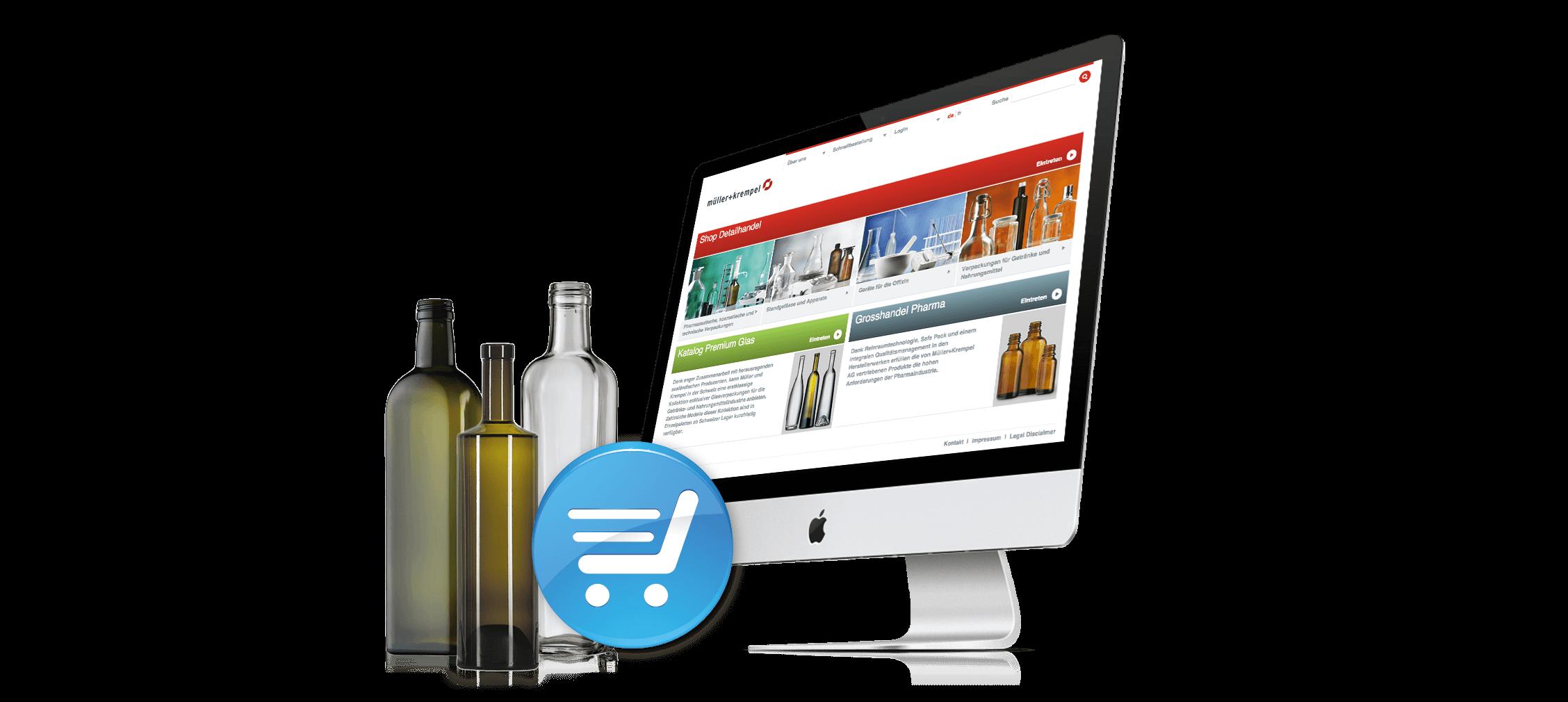 E-Business Website für Müller & Krempel