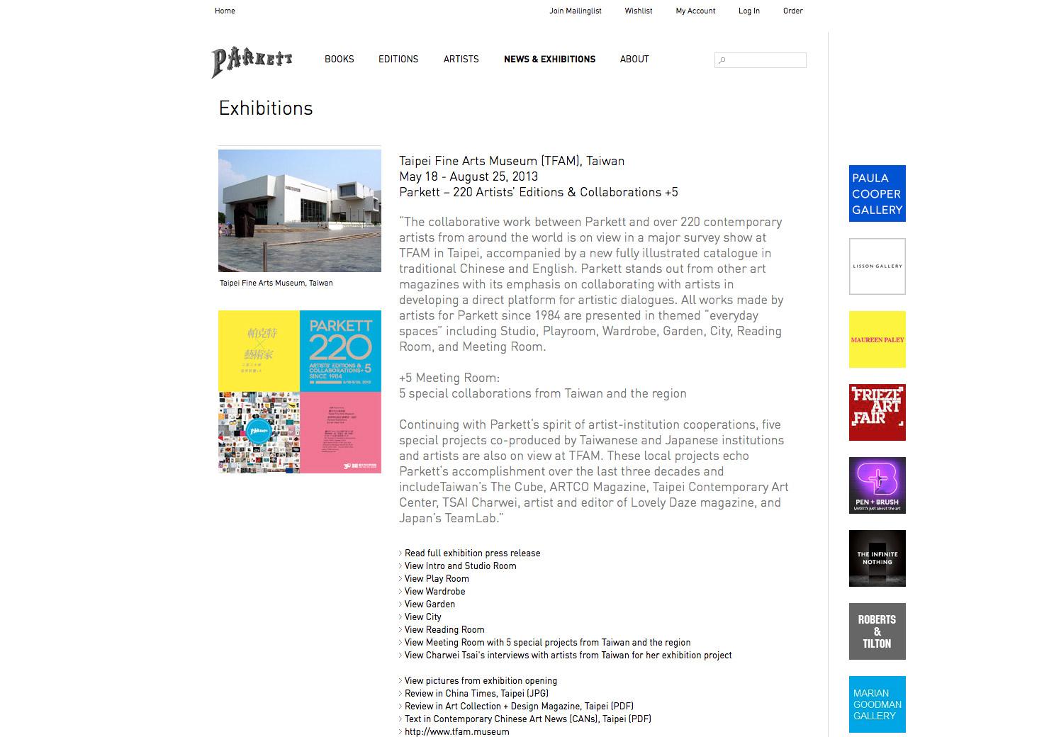 Detailseite Ausstellung für zeitgenössische Kunst slide 7