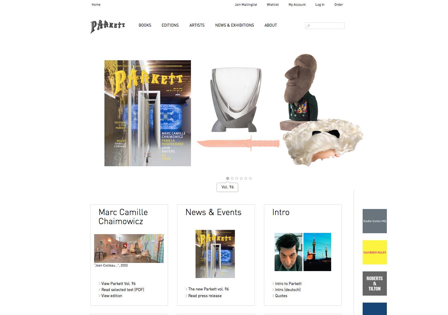 Startseite Online-Plattform und Shop slide 0