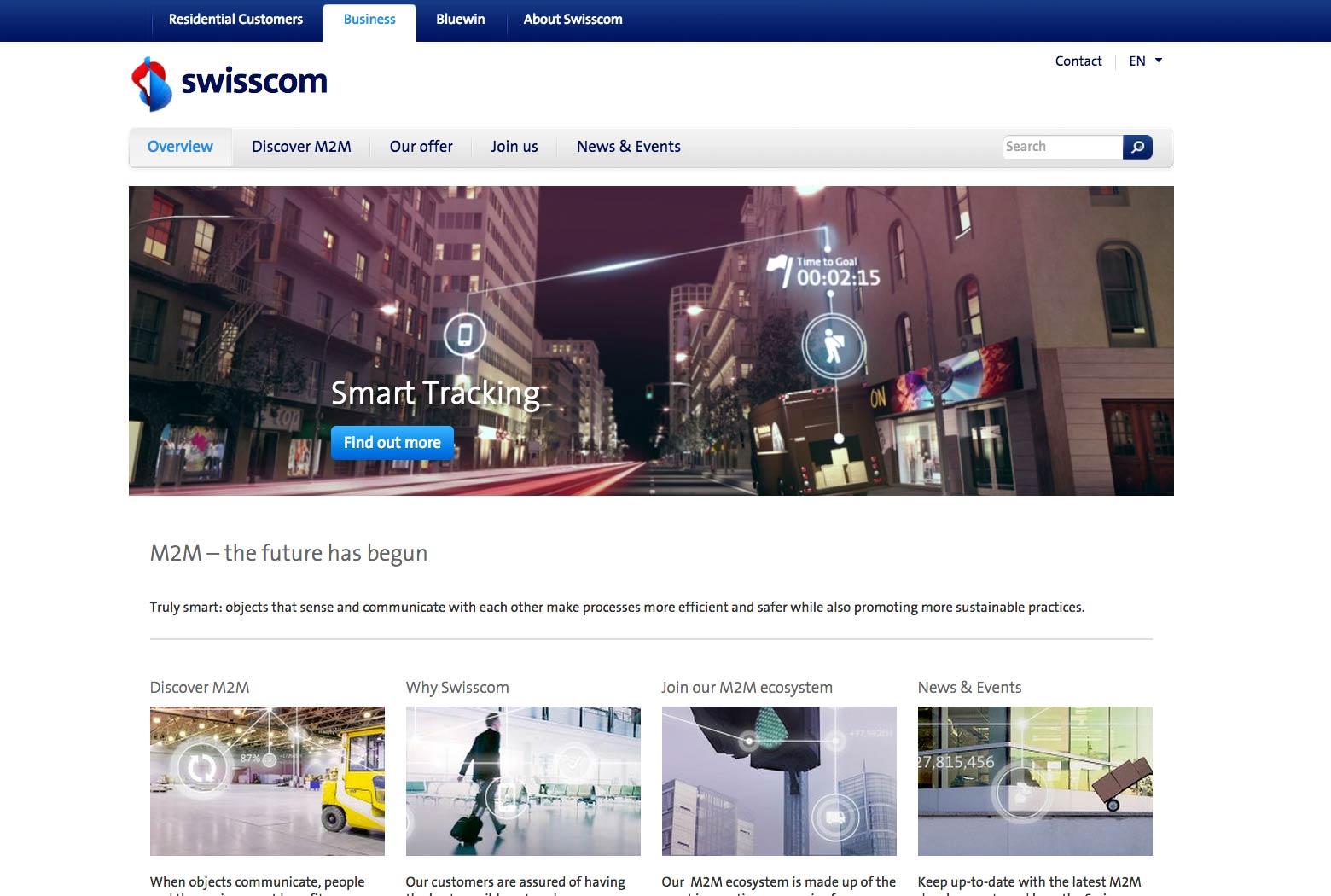 Crossmedia Kommunikation: Website slide 0