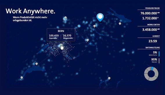 B2B-Kampagne für Swisscom