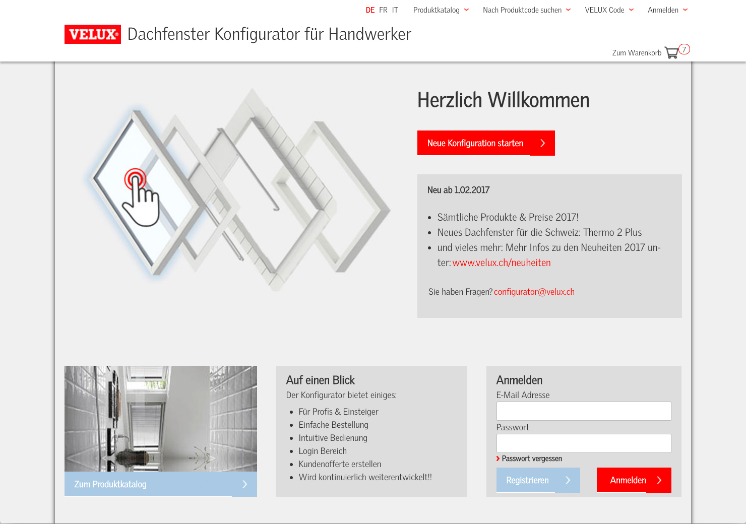 Startseite Konfigurator Dachfenster slide 0