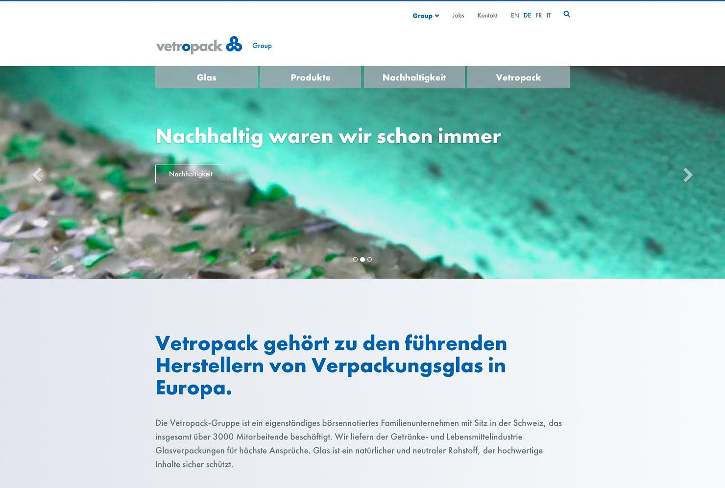 Startseite Webseite Bühne slide 1
