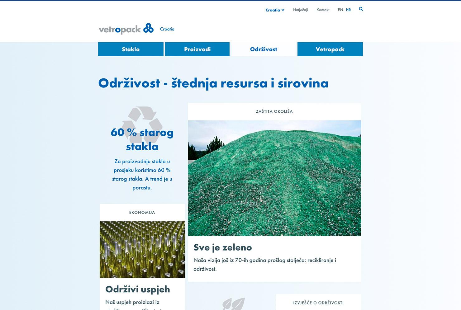 Übersichtsseite Unternehmens-Website slide 3