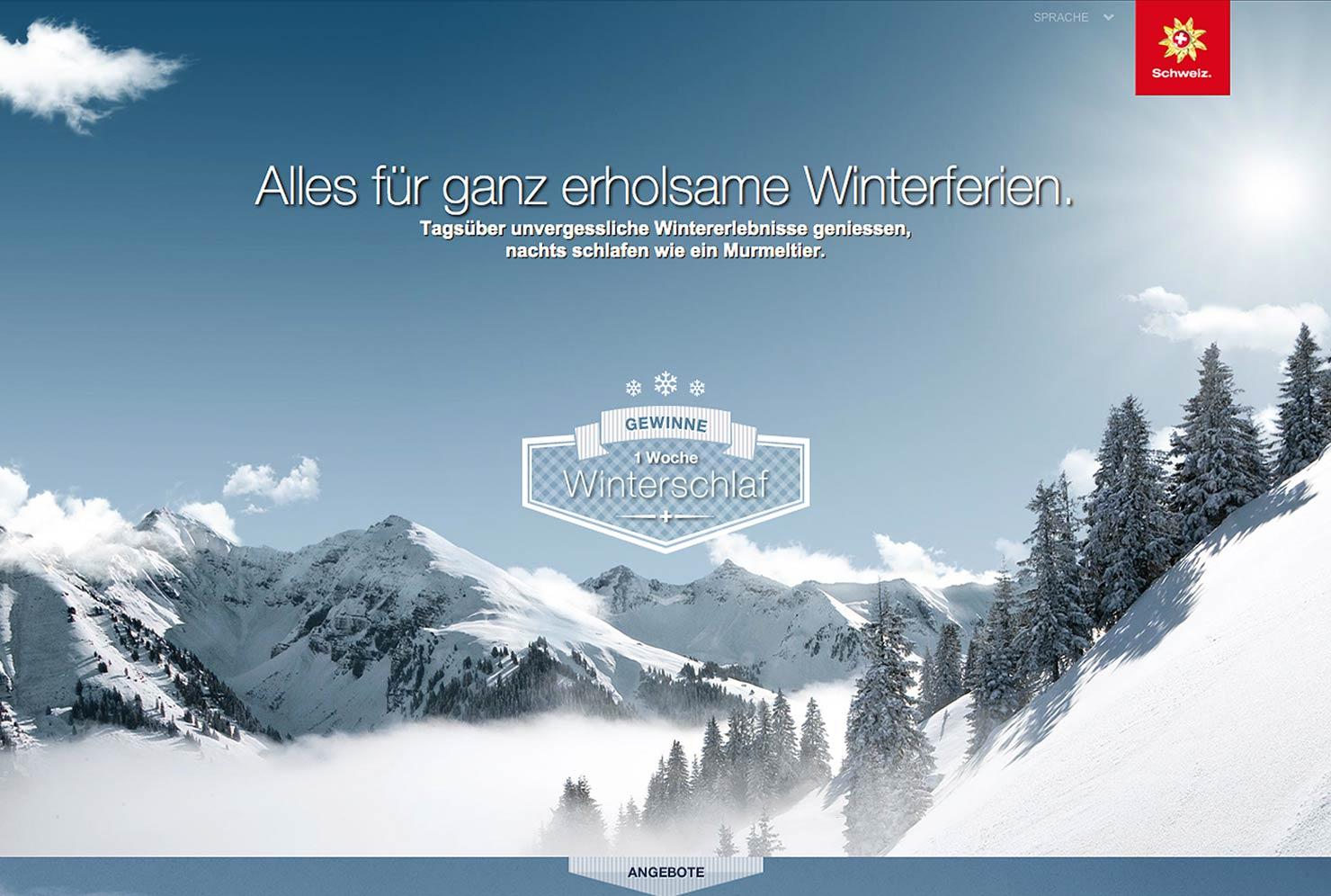 Winterschlaf Online Kampagne slide 0