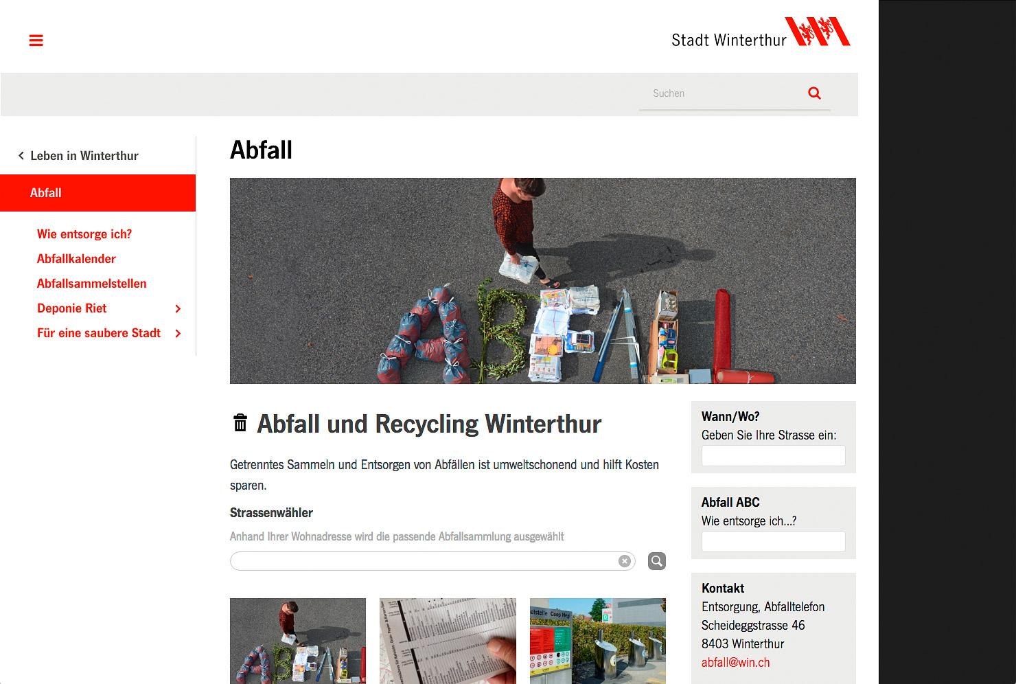 Detailseite Stadt-Portal slide 1