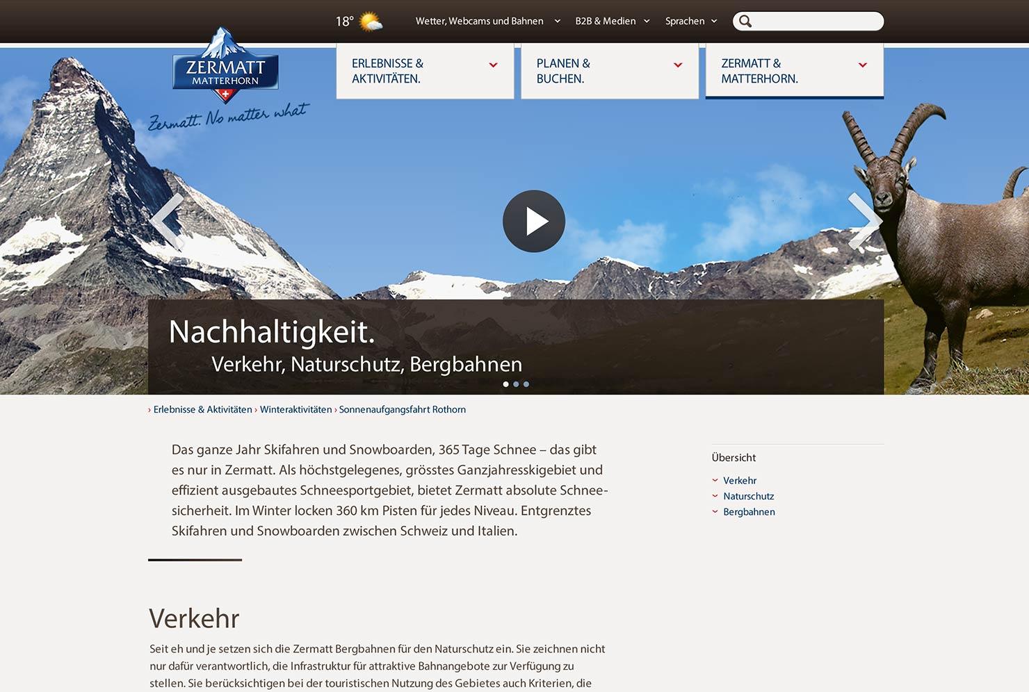 Hilfeseite Tourismus Destination Website slide 3