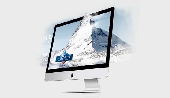 Website für Zermatt.ch
